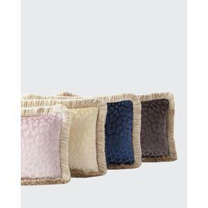 "Roberto Cavalli Monogram Velvet Pillow, 12"" x 20""  - Size: unisex"