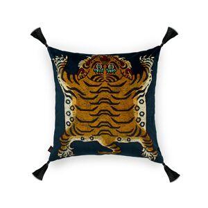 House of Hackney Saber Midnight Large Velvet Pillow  - Size: unisex