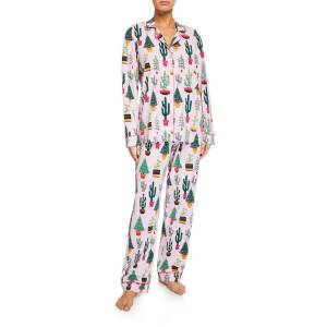 BedHead Pajamas Christmas Cactus Classic Pajama Set