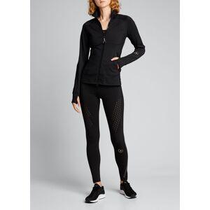 adidas by Stella McCartney Truepurpose Zip-Front Track Jacket with Ventilation  - female - BLACK - Size: Small