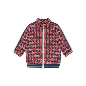 Gucci Boy's Logo Printed Zip-Front Sweater, Size 12-36 Months  - male - RED - Size: 36 Months