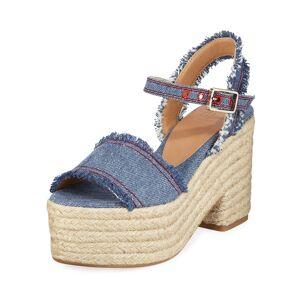 Castaner Xena Denim Platform Sandals