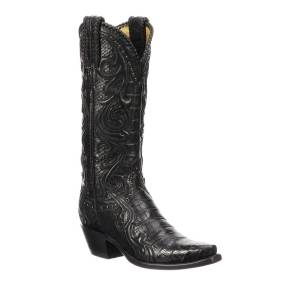 Lucchese Sheridan Python Cowboy Boots