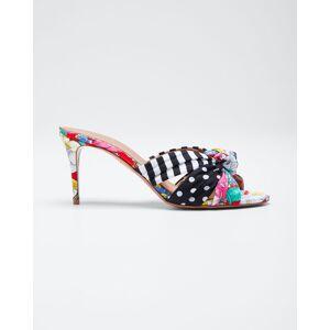 Aquazzura x Racil Menorca 75mm Slide Sandals