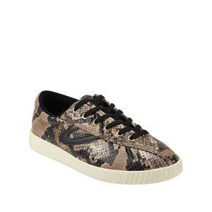 Tretorn Nylite 6 Plus Snake-Print Basket Sneakers