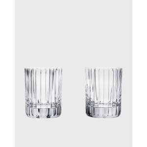 Baccarat Harmonie Crystal Triple Old Fashion Tumblers, Set of Two  - Size: unisex