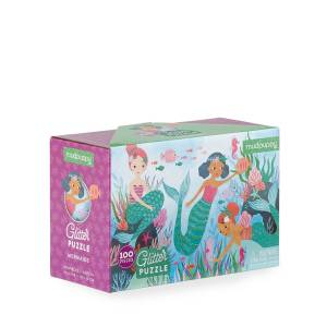 Hachette Book Group Glitter Mermaids 100-Piece Puzzle