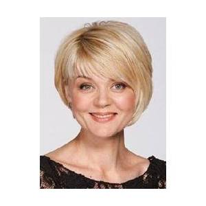 Unique Short Straight Capless Synthetic Wig 8 Inches