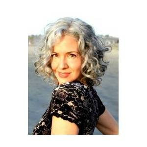 Short Curly Bob Lace Front Synthetic Wigs for Older Women