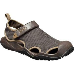 Crocs Men's Crocs Swiftwater Mesh Deck Closed Toe Sandal