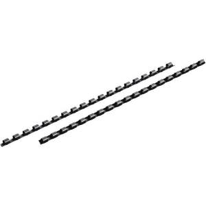 Mead CombBind Binding Spines 3/4 inch 125 Pack Black - Office Supplies