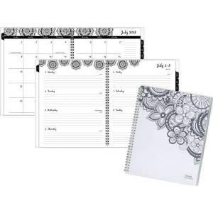 Mead Zendoodle Academic Weekly-Monthly Planner - Student Planners