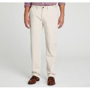 """Johnston & Murphy Men's Regular Fit Garment Washed Chinos - Stone - Size 36 - 32"""" Regular"""