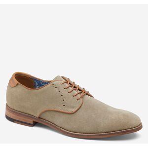Johnston & Murphy Men's Milliken Plain Toe - Stone Embossed Suede - Size 9 - M