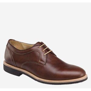 Johnston & Murphy Men's Barlow Plain Toe Shoe - Tobacco Full Grain - Size 9 - W