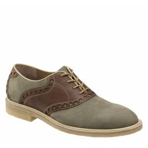 Johnston & Murphy Men's Wagner Saddle - Sage Green Nubuck - Size 10 - M