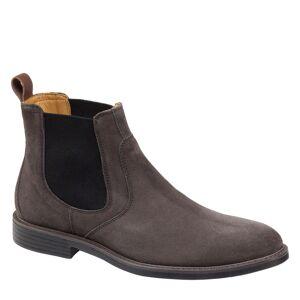 Johnston & Murphy Men's XC4 Hollis Chelsea Boot - Dark Gray Suede - Size 11 - M/W