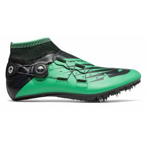 New Balance Unisex Vazee Sigma Track Spike Shoes Green with Black