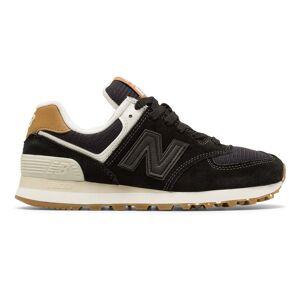 New Balance Women's 574 Shoes Black