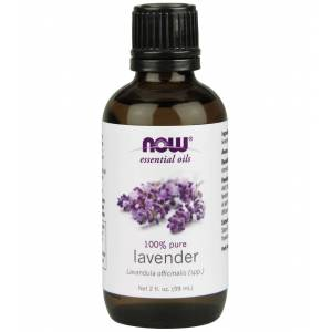 NOW 100% Pure Lavender Oil 2 oz