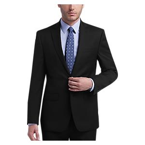 Calvin Klein X-Fit Black Stripe Slim Fit Suit
