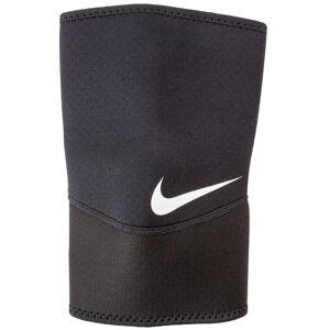 Nike Pro Closed-Patella Knee Sleeve 2.0 - Black/White Medium Size Medium Nylon/Polyester/Spandex - Swimoutlet.com