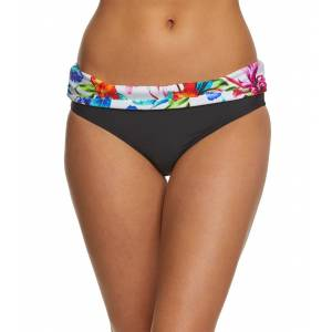 Athena Tropical Trip Hipster Bikini Bottom - Multi 12 Elastane/Polyamide - Swimoutlet.com