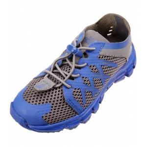 The North Face Youth's Litewave Flow Water Shoe Toddler - Zinc Grey/Marker Blue 7 Foam/Polyurethane/Rubber - Swimoutlet.com