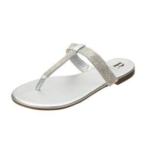 Pia Rossini Women's Shanaya Sandals - Silver 6 Eu 37 - Swimoutlet.com
