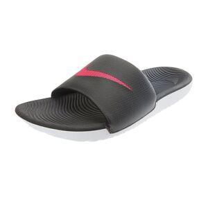 Nike Women's Kawa Slides Sandals - Black/Vivid Pink 10 - Swimoutlet.com