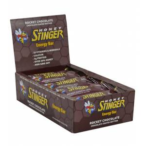 Honey Stinger Energy Bars 15 Pack - Rocket Chocolate - Swimoutlet.com
