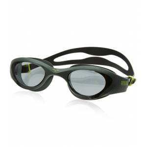 Arena The One Goggle - Smoke/Deep Green/Black - Swimoutlet.com