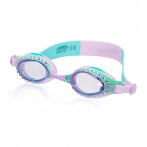 Bling2O Kids' Ombre Classic Swim Goggle - Green Tea Turquoise - Swimoutlet.com