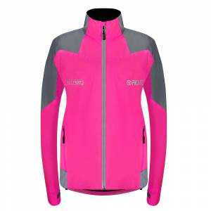 Nightrider Women's Cycling Jacket 2.0 - Pink - Size 6