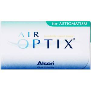 Alcon - Ciba Vision Air Optix for Astigmatism Contact Lenses - 6 pack