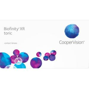 CooperVision Biofinity XR Toric Monthly Contact Lenses