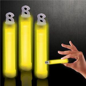 "Windy City Novelties Yellow 4"" Glow Sticks by Windy City Novelties"