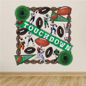 Windy City Novelties Football Touchdown Room Decorating Kit by Windy City Novelties