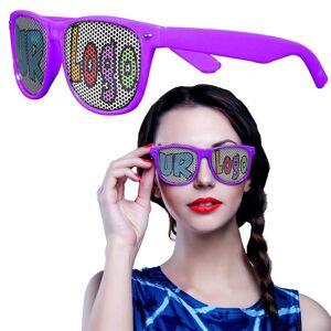 Windy City Novelties Purple Novelty Custom Sunglasses - 12 Pack by Windy City Novelties