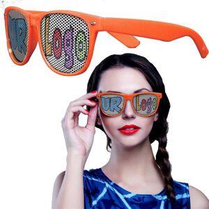 Windy City Novelties Orange Novelty Custom Sunglasses - 12 Pack by Windy City Novelties