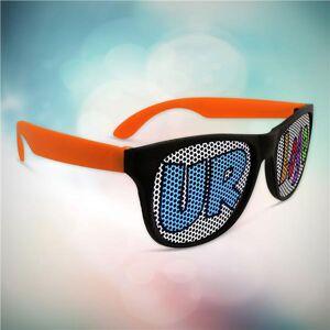 Windy City Novelties Custom Orange Billboard Novelty Sunglasses by Windy City Novelties