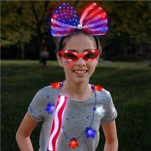 Windy City Novelties Girls 4th of July Patriotic Party Kit by Windy City Novelties