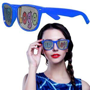 Windy City Novelties Blue Novelty Custom Sunglasses - 12 Pack by Windy City Novelties