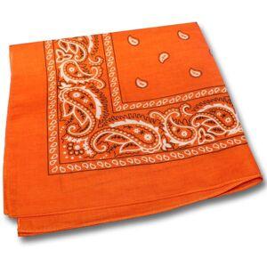 Windy City Novelties Orange Cotton Bandanas by Windy City Novelties