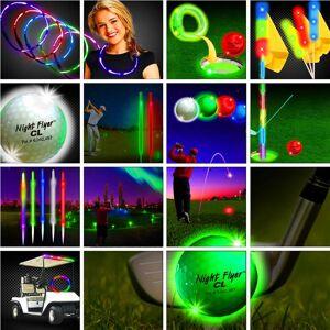 Windy City Novelties Premium 60 Player Night Flyer Fairway Tournament Package by Windy City Novelties