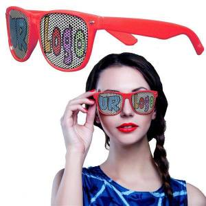 Windy City Novelties Red Novelty Custom Sunglasses - 12 Pack by Windy City Novelties