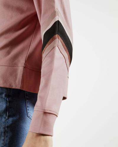 Ted Baker Sweatshirt With Knitte...