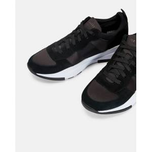 Ted Baker Printed Layered Sole Sneakers