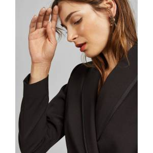 Ted Baker D-ring Tailored Jacket  - Black - Size: Ted Size 3 (US 8)