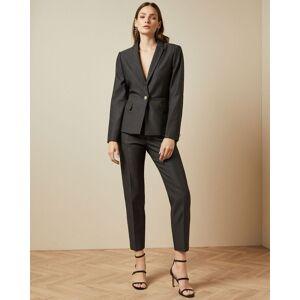 Ted Baker Jacquard Suit Jacket  - Black - Size: Ted Size 3 (US 8)